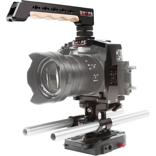 SHAPE Cage with 15mm Lightweight Rod System for Panasonic GH5