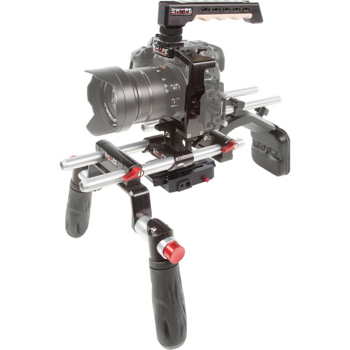 SHAPE Panasonic GH5 Cage with Offset Shoulder Mount System