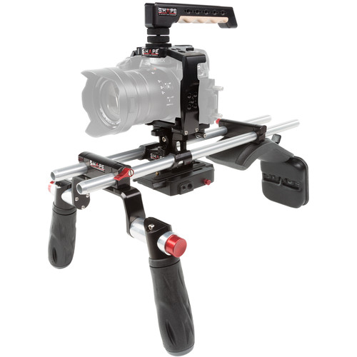 SHAPE Panasonic GH5 Cage with Shoulder Mount
