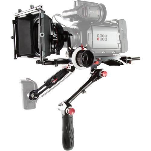 SHAPE Blackmagic URSA Mini Kit with Matte Box & Follow Focus Pro
