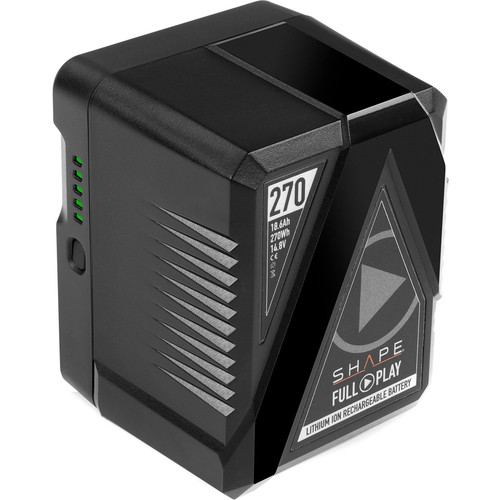 SHAPE Full Play V-Mount Battery