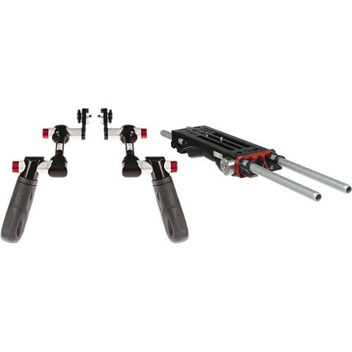 SHAPE Shoulder Mount V-Lock Baseplate & Rosette Double Handles Kit