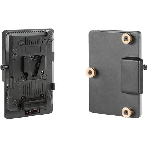 SHAPE V-Mount to GoldMount Regulated Battery Converter