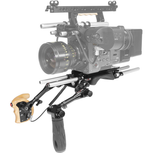 SHAPE Shoulder Baseplate 15Mm Lw With Remote Trigger Handle For Sony Venice