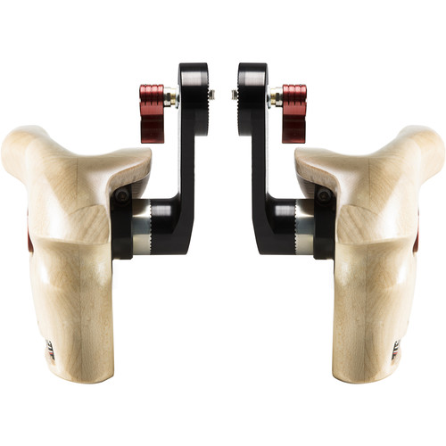 SHAPE Double Wooden Handle Grips for ARRI Rosettes