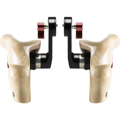 SHAPE Double Wooden Handgrips for ARRI Rosettes