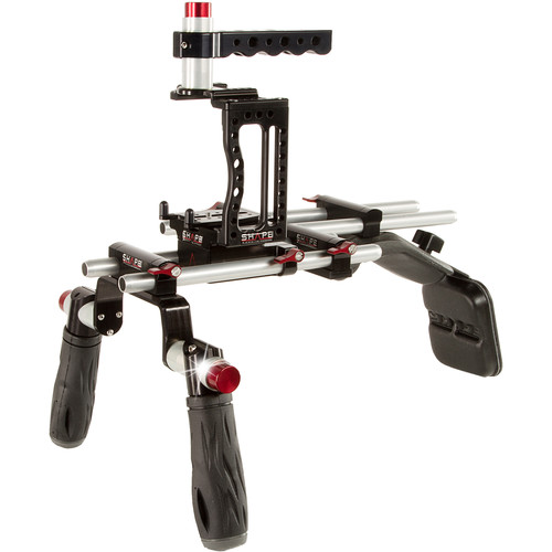 SHAPE XC10 Camera Cage with Shoulder Mount Kit
