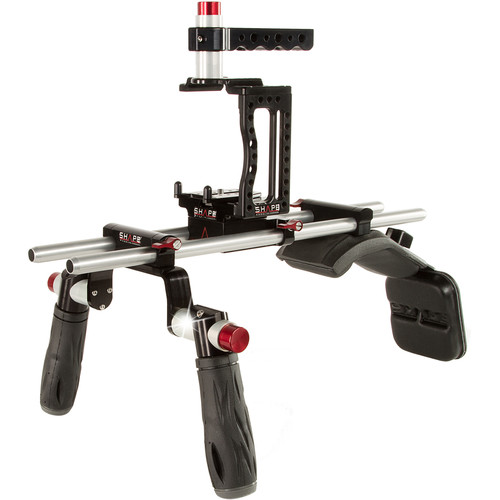 SHAPE XC10SM XC10 Camera Cage with Shoulder Mount Kit