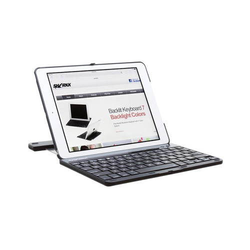 SHARKK Bluetooth Keyboard Case for iPad Air