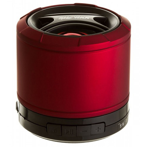 SHARKK Bluetooth Mini Portable Speaker (Red/Black)