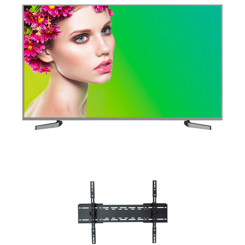 "Sharp AQUOS P8000-Series 50""-Class HDR UHD Smart LED TV and Tilting Wall Mount Kit"