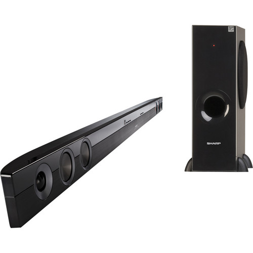 Sharp HT-SB40U 2.1 Channel Sound Bar Home Theater System