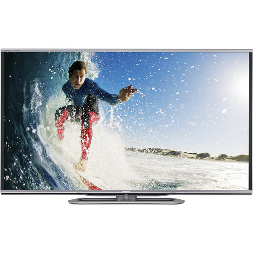 "Sharp 60"" LC-60LE857U AQUOS Full HD Smart LED 3D TV"