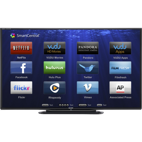 "Sharp 70"" LC-70LE757U AQUOS Full HD Smart LED 3D TV"