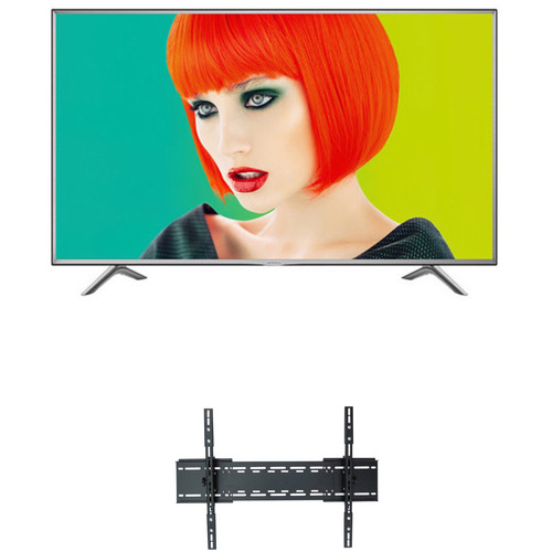 "Sharp P7000-Series 55""-Class HDR UHD Smart LED TV and Tilting Wall Mount Kit"