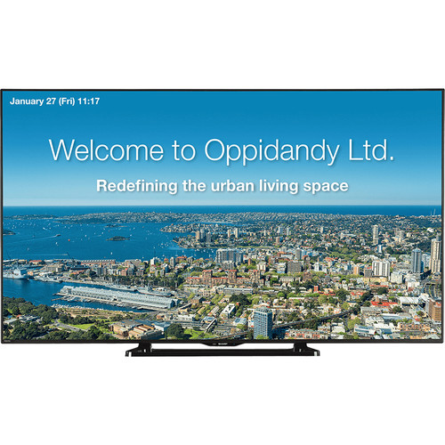 "Sharp PN-LE701 70"" Class Full HD Commercial LCD TV"