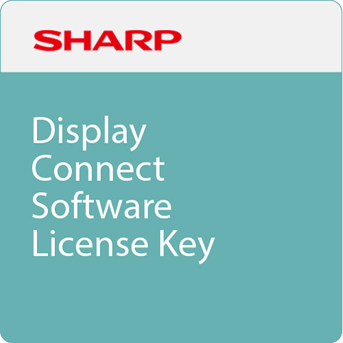 Sharp Display Connect Software License Key for Chrome (Download)