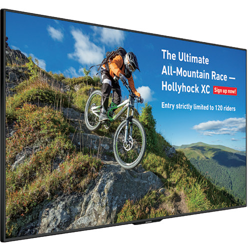 """Sharp 60"""" Class Commercial LCD Display Brilliant Ultra High Definition (3840 X 2160) Resolution"""