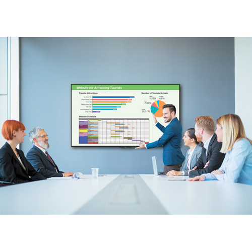 Sharp Essential Meeting Room Kit Bundle with PN-UH701 4K Ultra-Hd Commercial LCD Display