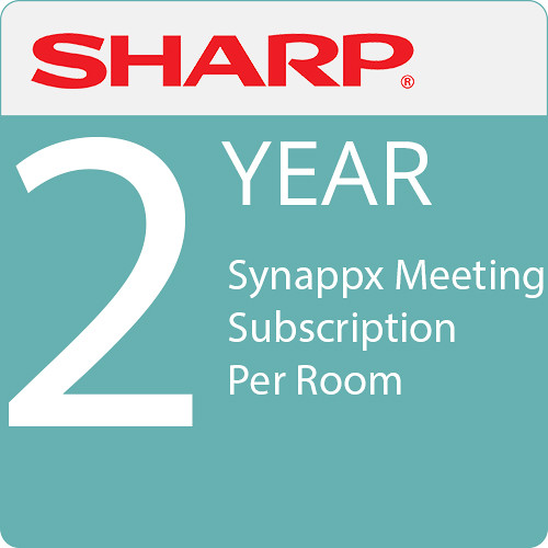 Sharp Synappx Meeting 2-Year Subscription Per Room