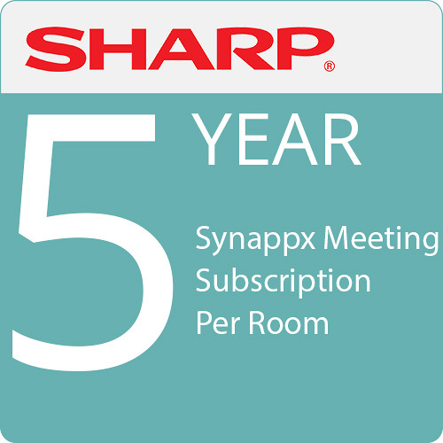 Sharp Synappx Meeting 5-Year Subscription Per Room