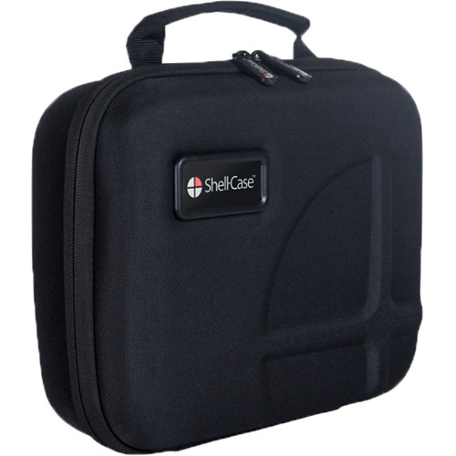 Shell-Case Hybrid 300 Model 320 Lightweight Utility Case with Pouch and Divider (Black)