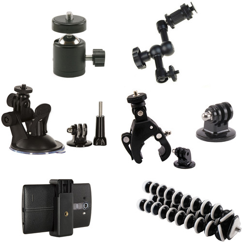 SHILL Action Camera First Aid Attachment Grip Kit