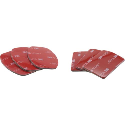 SHILL Three Flat & Three Curved 3M Adhesive Pads