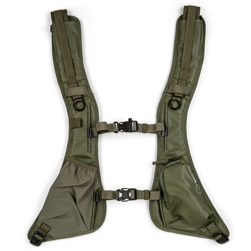 Shimoda Designs Women's Tech Backpack Straps (Army Green)