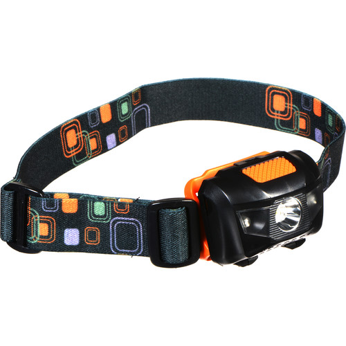 Shining Buddy LED Headlamp (Black/Orange)