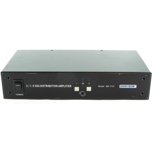 Shinybow SB-1110 2 x 1 x 8 VGA Switcher & Distribution Amplifier