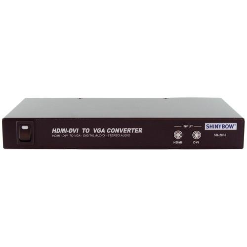 Shinybow SB-2833 HDMI / DVI to VGA / Digital & Analog Audio Converter