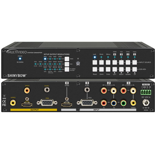 Shinybow SB-3690A MultiVideo Digital Converter & Scaler