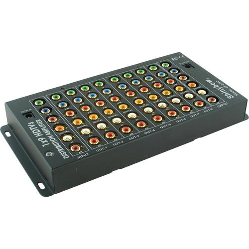 Shinybow SB-3790 1 x 9 Component/Digital/Audio Distribution Amplifier