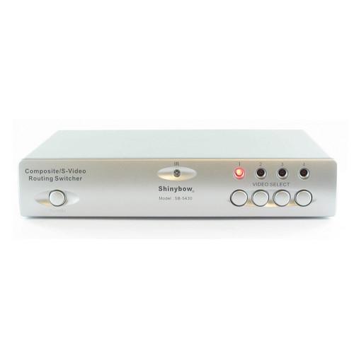 Shinybow SB-5430 4 x 2 Composite/S-Video/Audio Routing Switcher