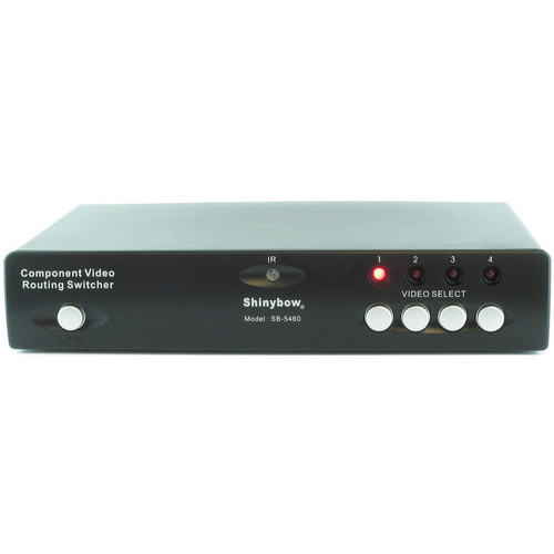 Shinybow SB-5460 4 x 2 Component Video/Audio Routing Switcher
