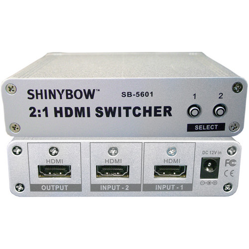 Shinybow SB-5601 2 x 1 HDMI Switcher