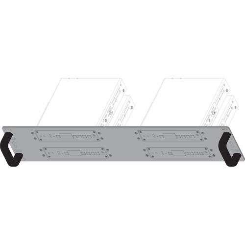Shinybow Rackmount Bracket for Select SB Series Transmitter/Receiver Units (4 Port, 2 RU)