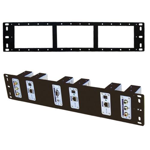 Shinybow SB-6066 2U Rack Mount Panel for CAT5 Extenders