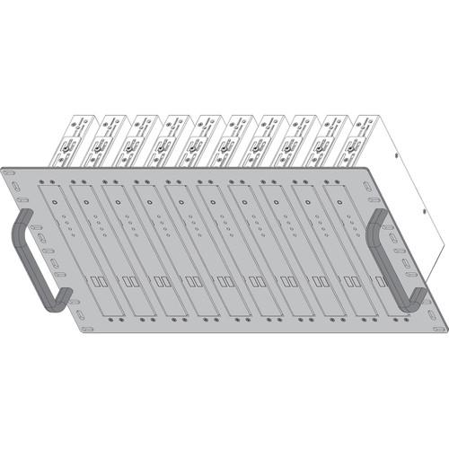 Shinybow Rackmount Bracket for SB-63xx Transmitters/Receivers (6 RU, 10-Port)
