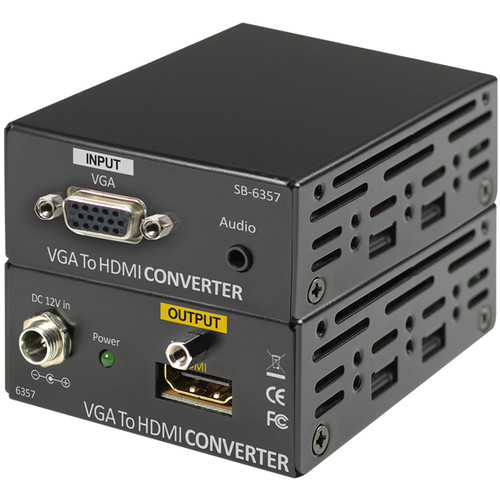 Shinybow VGA/Audio to HDMI Converter