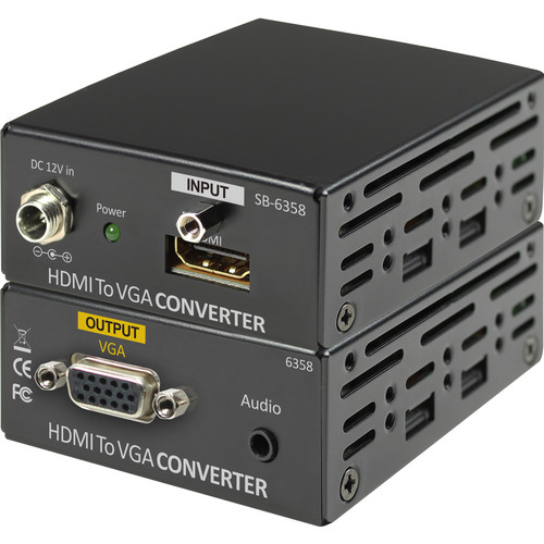 Shinybow HDMI to VGA/Audio Converter