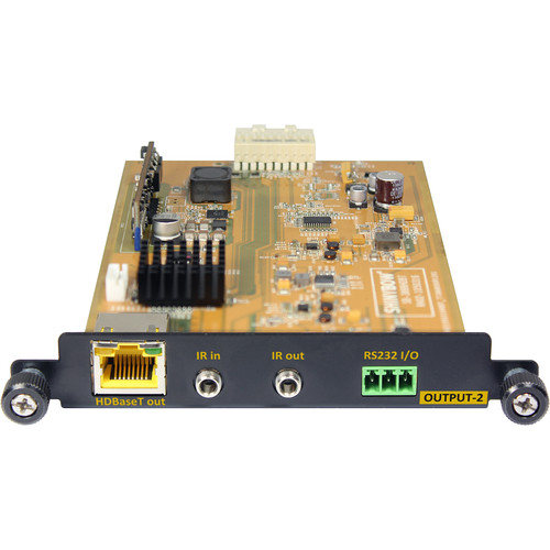 Shinybow T-HDBT-100P HDBaseT Output Card (with PoE)