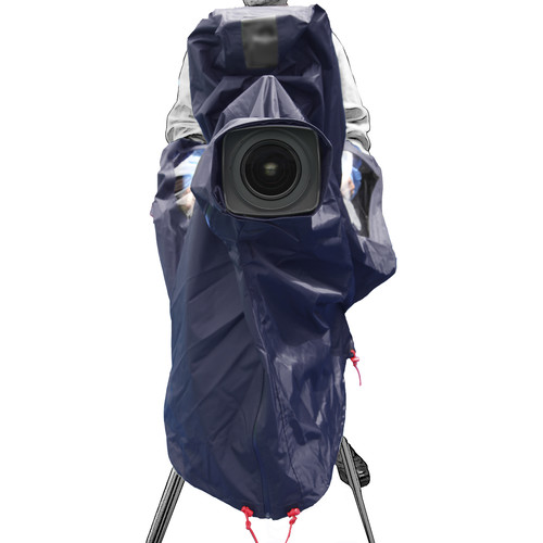 ShooterSlicker MTO-S10-N 10MON Raincover for ENG/EFP Studio Camera (Navy)