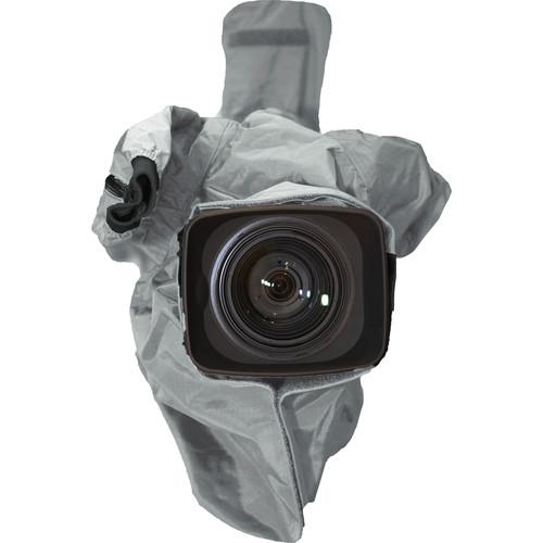 ShooterSlicker MTO-S1 Rain Cover for ENG/EFP Cameras (Silver Gray)