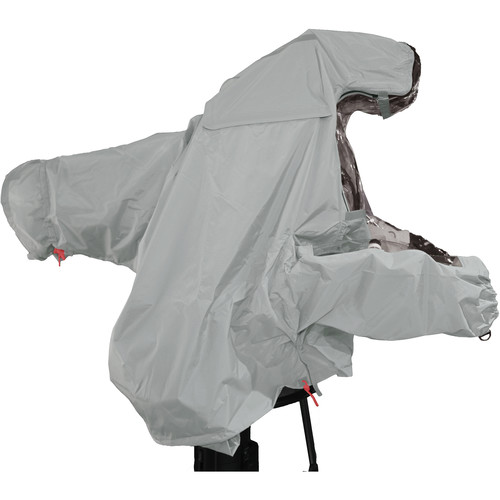 "ShooterSlicker MTO-S5-G-10MON Raincover for Studio Camera with Box Lens and 10 - 12"" Monitor (Gray)"