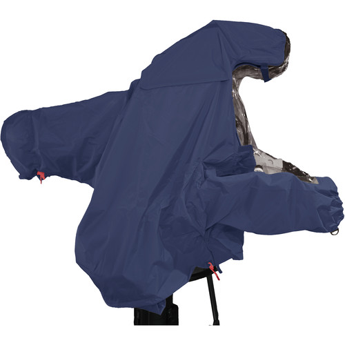 "ShooterSlicker MTO-S5-N-10MON Raincover for Studio Camera with Box Lens and 10 - 12"" Monitor (Navy)"