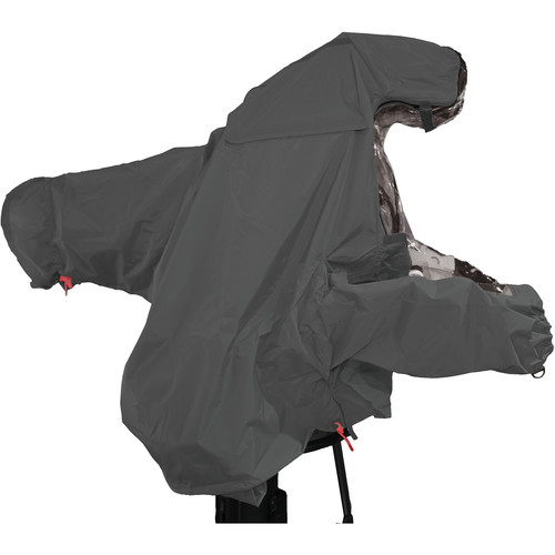 "ShooterSlicker MTO-S5-S-10MON Raincover for Studio Camera with Box Lens and 10 - 12"" Monitor (Slate)"
