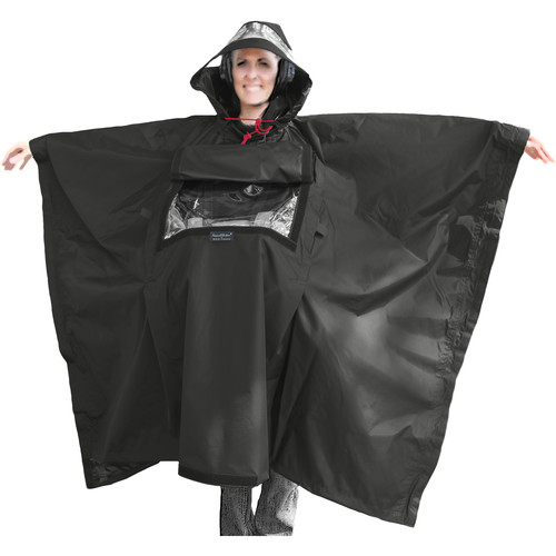ShooterSlicker SOSL SoundSlicker Poncho (Black)