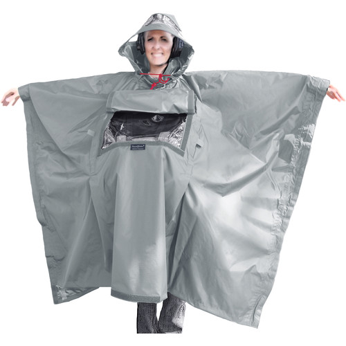 ShooterSlicker SOSL SoundSlicker Poncho (Gray)